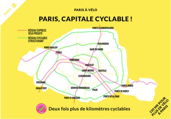 PLANO DE MOBILIDADE POR BICICLETAS DE PARIS