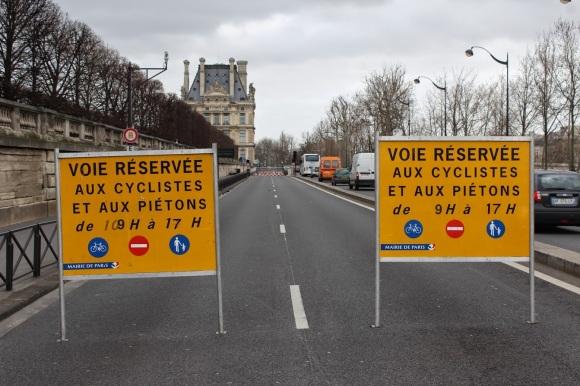 Abertura das ruas às pessoas, ainda que com horário limitado